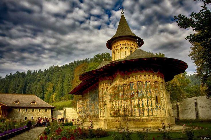 Voronet Monastery, the Sistine Chapel of the East. Photo by Constantin Florea, www.flickr.com/costiflorea