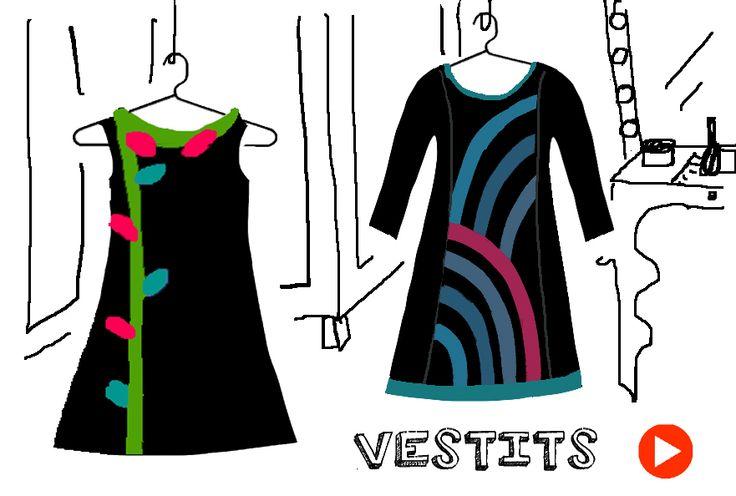 Vestido de diseño hechos en Barcelona. #InstintoBcn #ShopOnLine