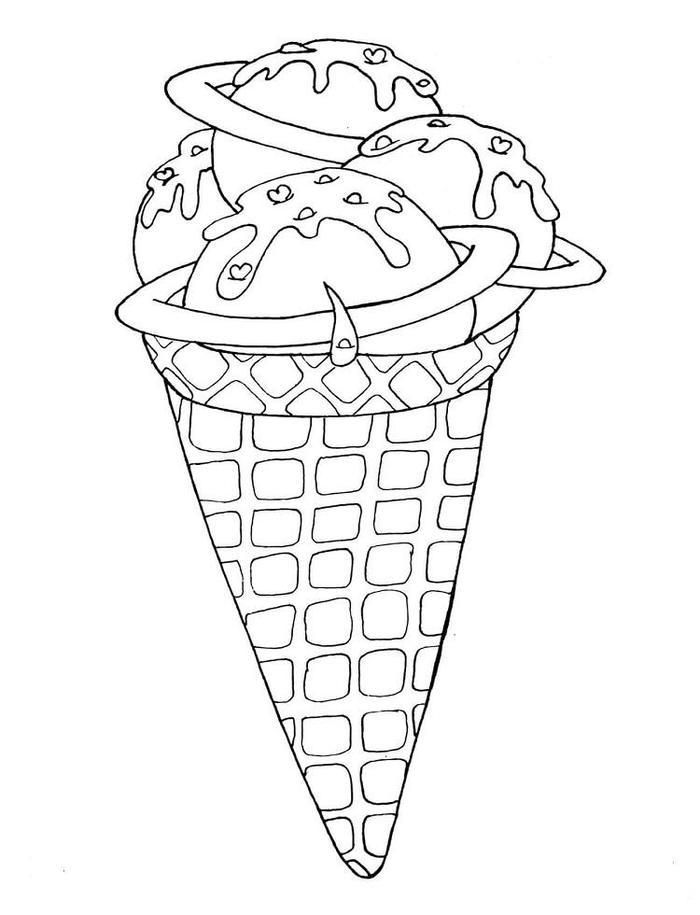 Ice Cream Dessert Coloring Pages Ice Cream Coloring Pages Free Printable Coloring Pages Printable Coloring Pages