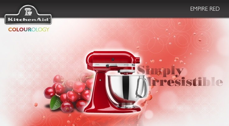 Empire Red #KitchenAid #StandMixer
