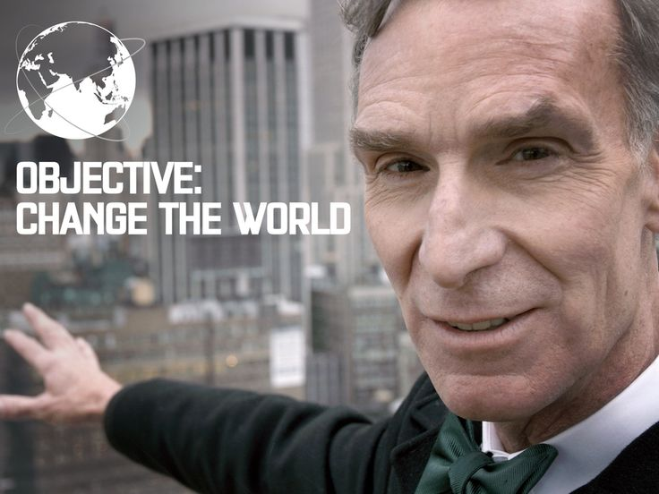 The Bill Nye Film project video  Pledge!  May future generations continue to benefit from Bill Nye's love and enthusiasm for science. Well educated children will be the driving force that changes our world for the better.