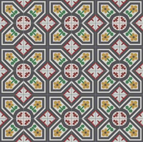 how to make cement tiles