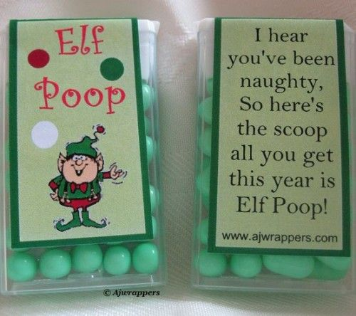 Pass the Elf Poop: Great Idea for Passing Around a Novelty Token at the Office or to Family & Friends