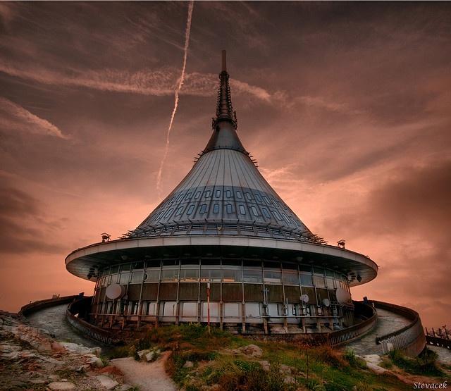 The Hotel Jested, Liberec, Czech Republic.