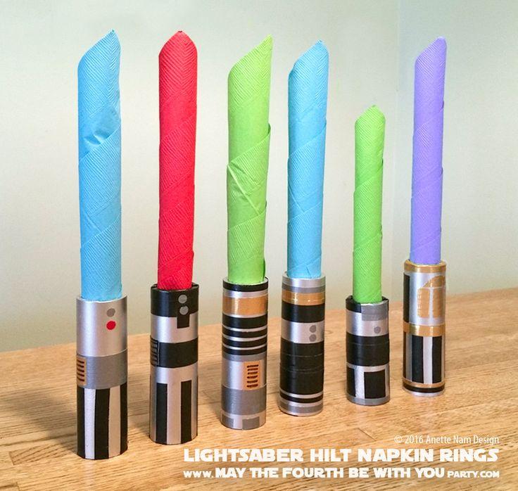 Diy lightsaber hilt napkin rings part 1 diy lightsaber