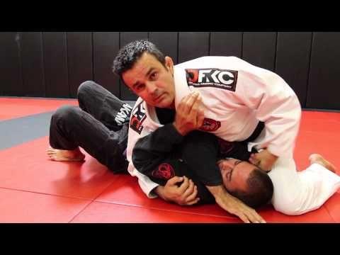 Jiu Jitsu Techniques - Clock Choke From Side Control