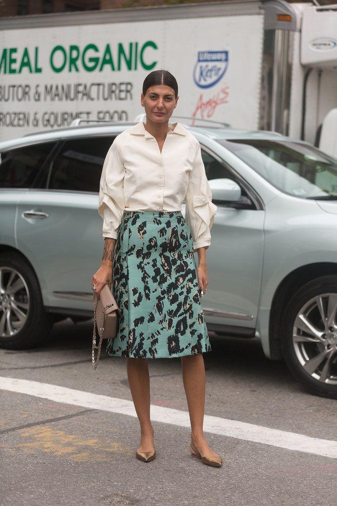 Best Street Style at New York Fashion Week Spring 2015   POPSUGAR Fashion