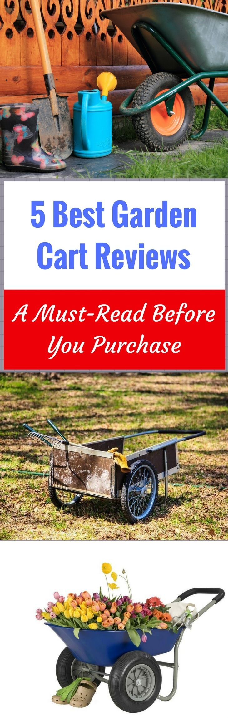 A garden carts is useful for your gardening tasks. Know more about its use, different types, and what garden cart suits you best. Read more at: https://gardenambition.com/best-garden-cart-reviews/