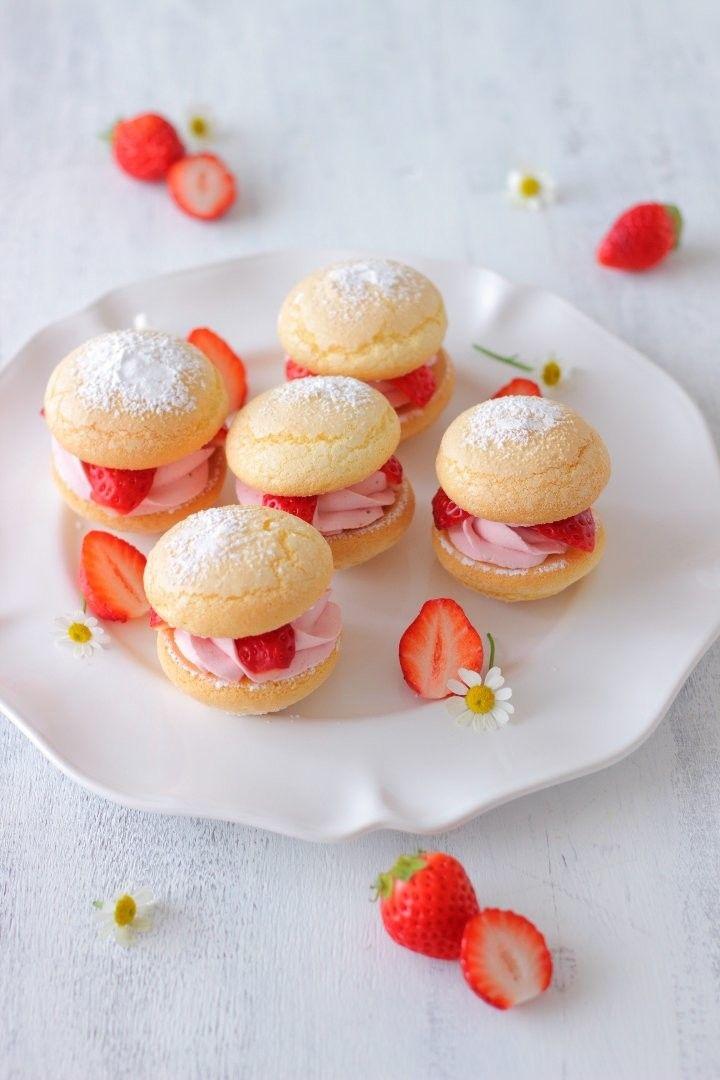 旬なイチゴを使って『イチゴのブッセ』 LIMIA (リミア)