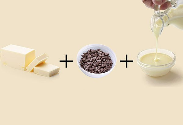 Talk about short and sweet: Each of these treats uses only three ingredients, most of which you likely have on hand.