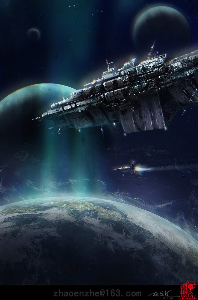 667 best SciFi Space Ships & Space Stations images on ...