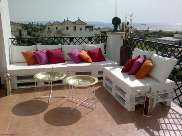 palettenmöbel für den balkon tolle vorschläge für das sofadesign