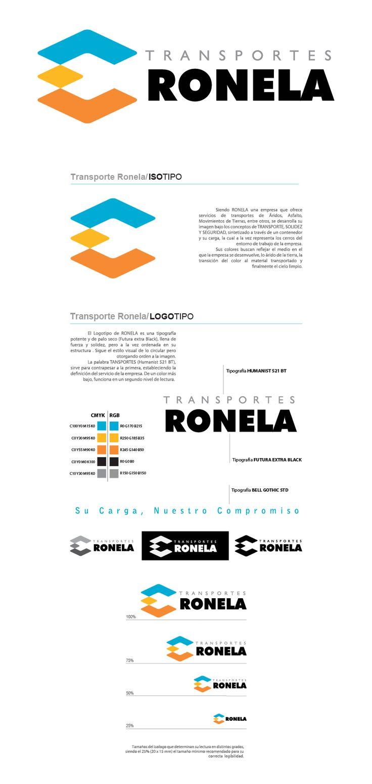 2008 / Ronela on Behance #graphic #design #branding #logotype #illustrator
