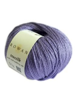 Truesilk is made with 100% mulberry silk making it light with a natural sheen that is found in silk. The yarn is a cha...