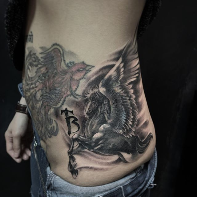 New The 10 Best Tattoo Ideas Today With Pictures Still On Progressing On This Pegasus Cover Up 1 More Session To Co Tattoos Cool Tattoos Simple Tattoos