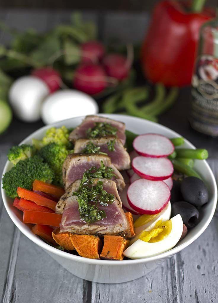 Rainbow Salad Nicoise - This is our take on the classic Salad Nicoise ...