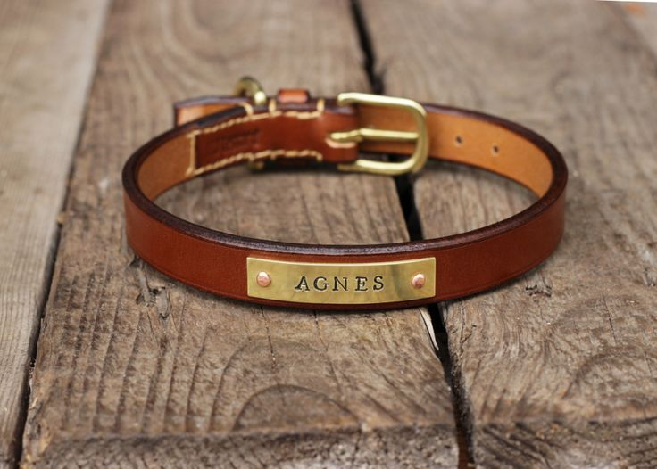 Christmas Gift Idea - Custom made leather dog and cat collars, leashes and more