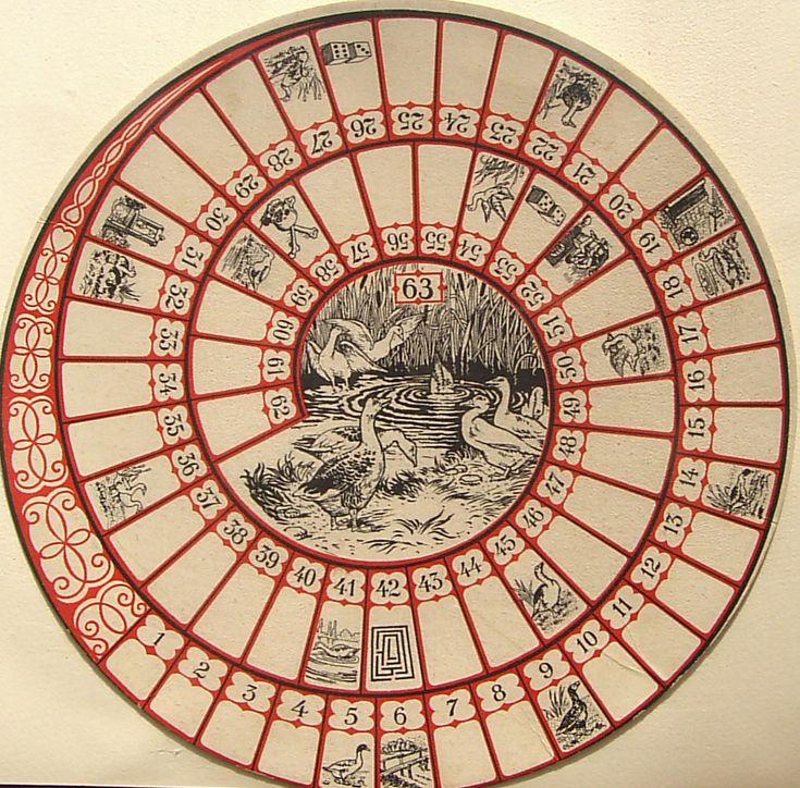 Hepta (Rond spellen Boek)19-- Percorso di 63 caselle numerate Anonimo Svizzera-Losanna XX secolo (? /4)
