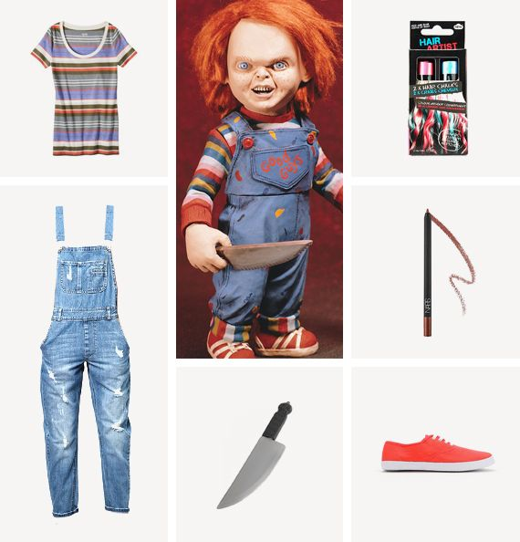 chucky costume / almost makes perfect