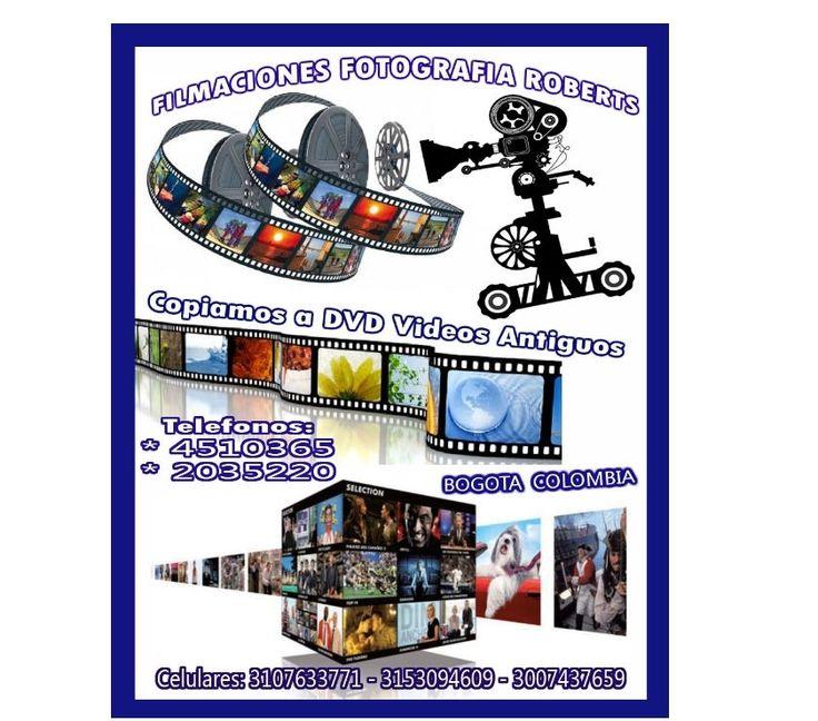 Fotos de FILMACIONES FOTOGRAFIA EDICIONES TRANSFER COPIAS VIDEOS