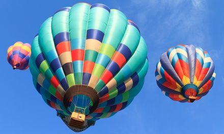 Wertgutschein über 120 € anrechenbar auf ein 3- bis 4-stündiges Ballon-Event von 3 bis 4-stündiges Ballon-Event von Sun Ballooning für 59 €