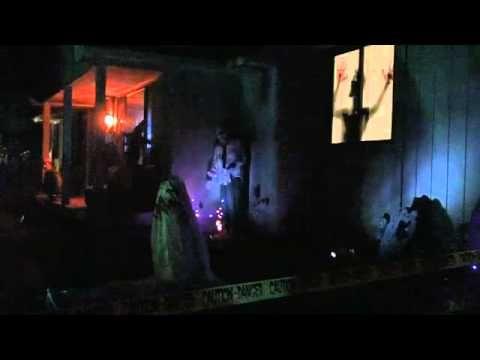 Halloween Yard Display for 2011