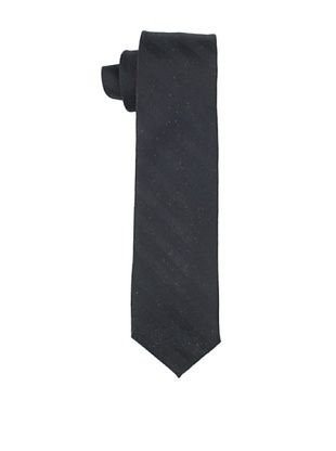 80% OFF Gitman Brothers Men's Tonal Tie (Black)