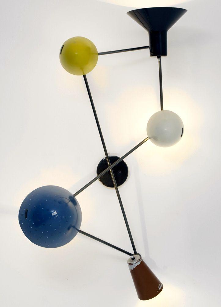 Gino Sarfatti; #191 Wall Light for Arteluce #gioberti #nest ilgioberti@gmail.com skype:gioberti.nest