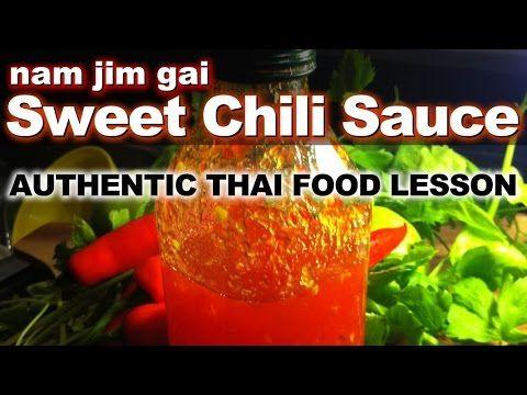 Thai Sweet Chil Sauce Dipping Video Recipe