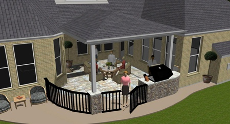 Possible Patio Cover Idea For My Inside Corner Backyard