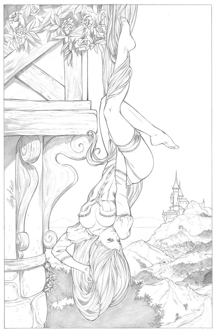 Rapunzel by Elias Chatzoudis