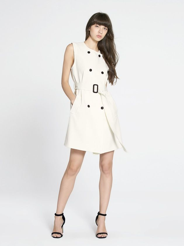 Image of Tessie Double Breasted Belted Dress