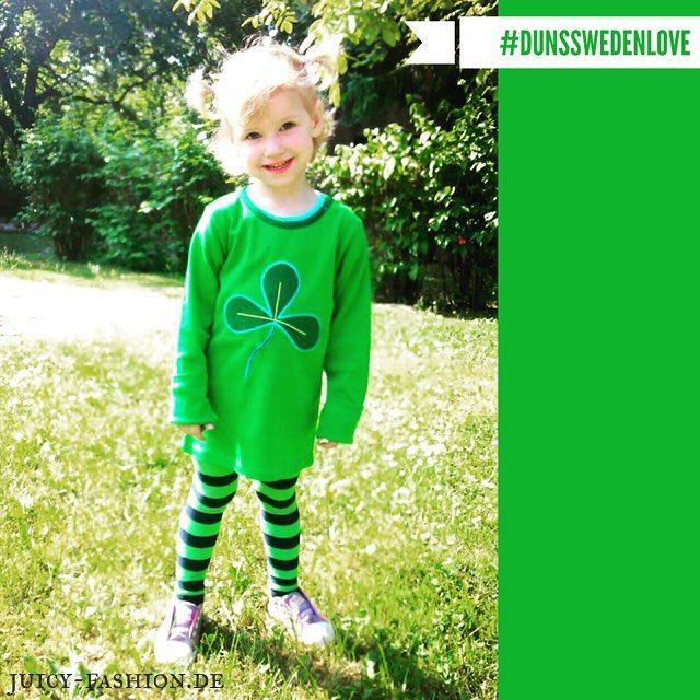 • So glücklich kann man sein... auch mit einem 3blättrigen Kleeblatt ☘  #loveit #lieblingssachen #dunsswedenfan #dunsswedenlove #dunsswedenfan #dunssweden #kidswear #kindermode #kleeblatt #glücksmoment #kleinesmodel #biokindermode #juicyfashion