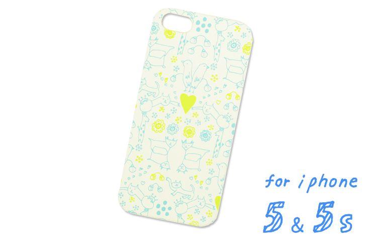 AIUEO iPhone5/5S対応ケース ハード (IPH-29) : MORITUMO WH S|いろは出版公式通販サイト TONARY(トナリー)