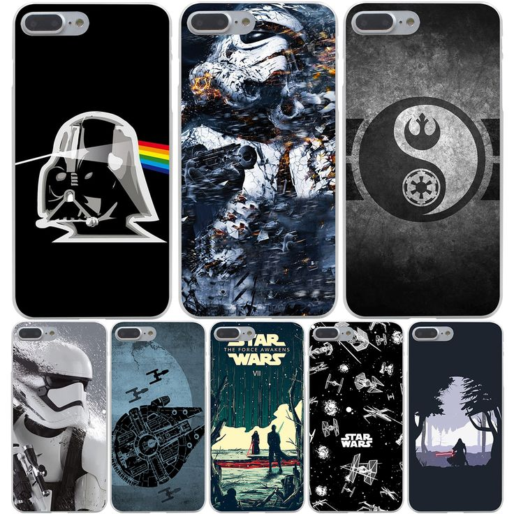 Hard Transparent Cover Case for iPhone 7 7 Plus 6 6S Plus 5 5S SE 5C 4 4S //Price: $9.11 & FREE Shipping //     #starwars #swco #starwarsfan #starwarsday #starwarscosplay #starwarstoyfigs #starwarsfigures #starwarsdaily #starwarslego #starwarstoys #starwarsgate #starwarsmovie