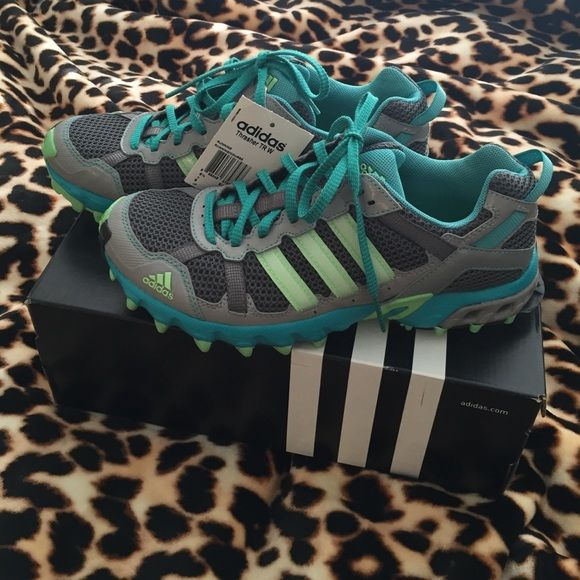 Adidas Women's Running Sneakers. Size 8. NWT Adidas Thrasher Women's running sneakers. Size 8. Really comfortable! Never worn. Brand new with tags still on.  Love the colors!! Adidas Shoes Sneakers