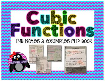 Cubic Functions Guided Notes FlipBook