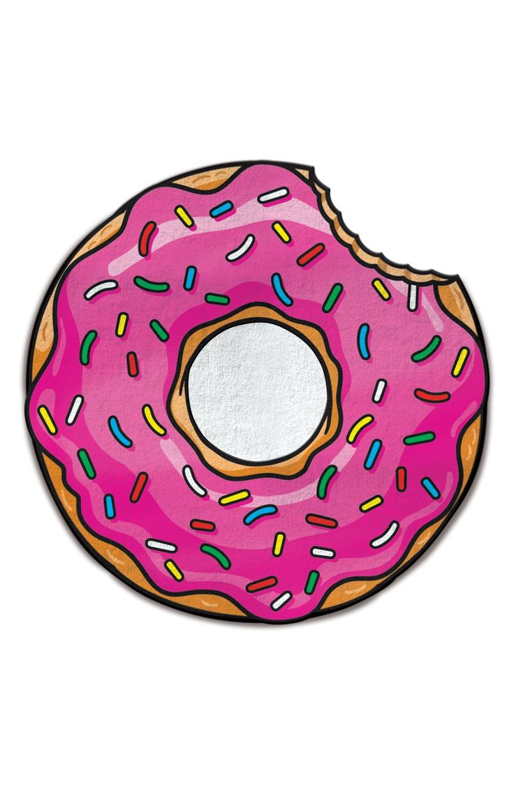 A super cute donut beach towel? Yes, please! We'll take a dozen.