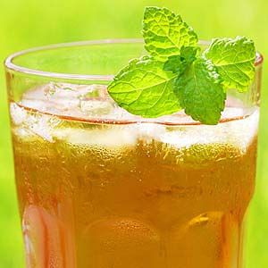 Atkins Iced Mint Tea. A perfect summertime drink!