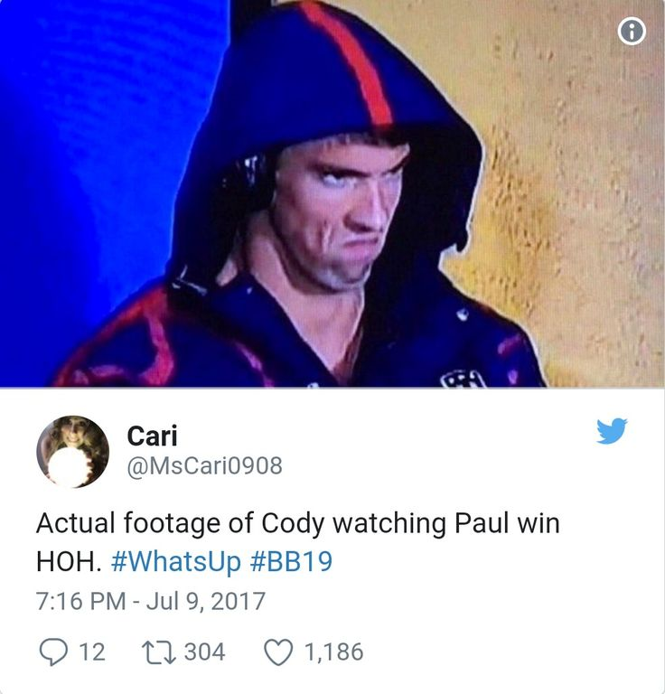 CBS Big Brother 19, another hilarious Cody meme