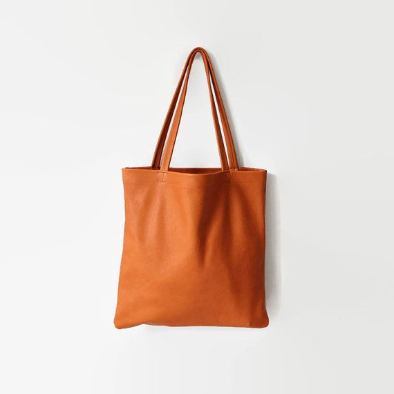 camel brown leather tote, tote bag, leather tote, leather shopper, organic leather tote, eco