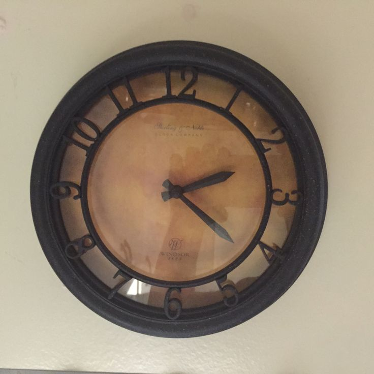 Small Stirling & Noble Clock Company Windsor 1825 Wall Clock. NWOT at Thrift on Kent in Kitchener for $5!