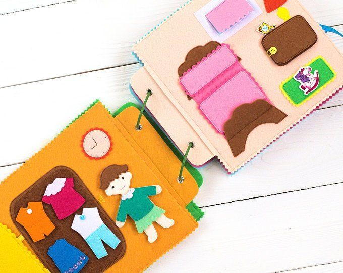 Quiet Book for boy – Busy Book – Felt Book – Toddler toys – Soft book – First Book – Toddler book – Baby Activity Book – Fabric Book