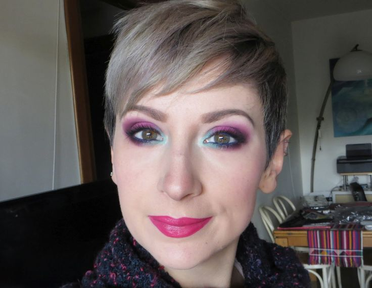 The taste of ink: Wham! Bam! VIVA GLAM! – Not enough pink! (MAC Cosmetics Viva Glam Miley Cyrus 1 look) #ItalylovesVivaGlam