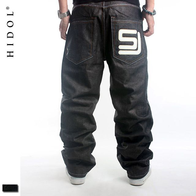 Special price Original Skateboard Denim Jeans Men European 46 Black Baggy Printed Hip Hop Trousers Brand Clothing SJ Europe HipHop Cargo Pants just only $28.72 - 30.43 with free shipping worldwide  #jeansformen Plese click on picture to see our special price for you