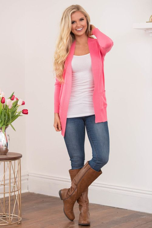 Always In Love Cardigan - The Pink Lily