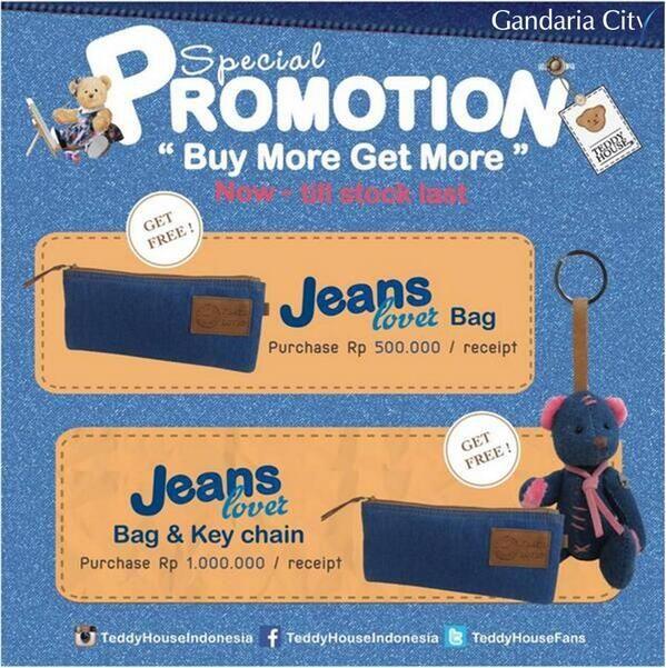 Teddy House: Promo Buy More Get More @TeddyHouseFans
