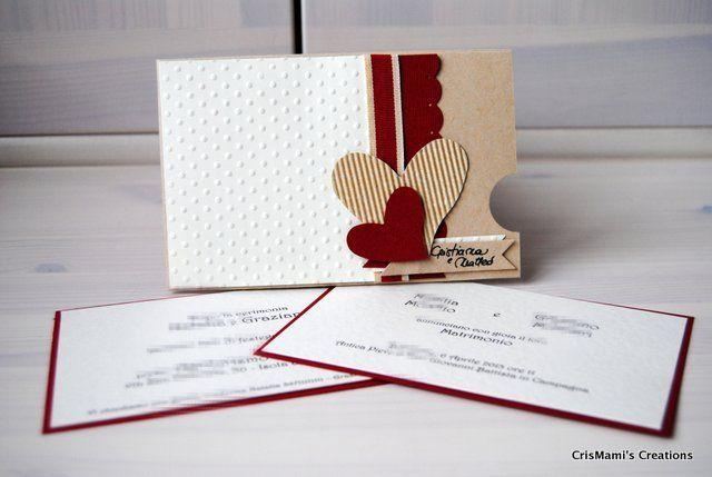 CrisMami's Creations: Matrimonio in ...rosso!