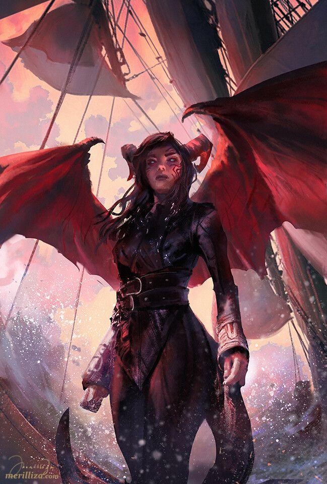ArtStation – The Warrior's Assault, Merilliza Chan