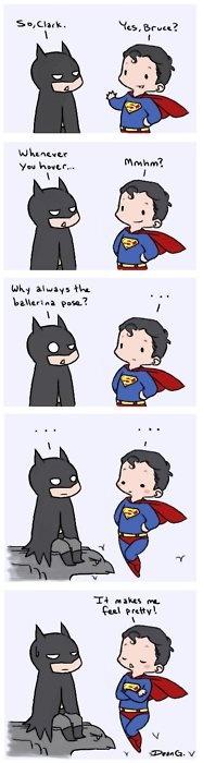 Superman sendo superman